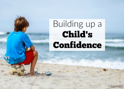 building up a childs confidence